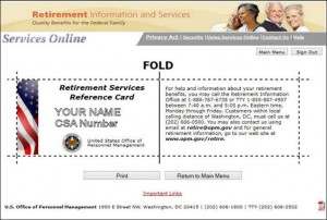 Retiree ID Card