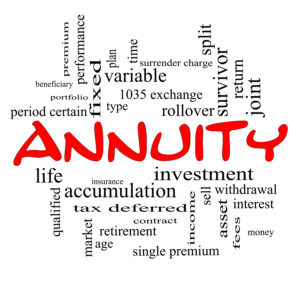 Notice of Annuity Adjustment – Valuable Information
